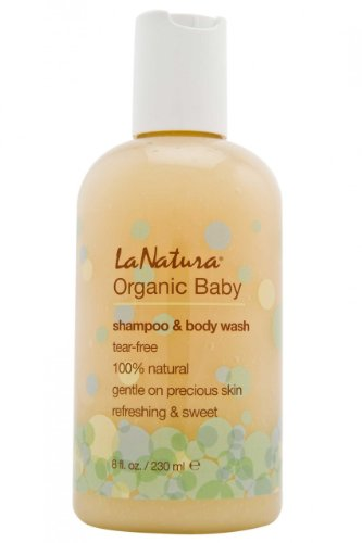 Organic Baby Wash and Shampoo - 1
