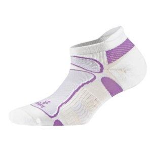 Balega Ultra Light No Show, White/Bright Purple, S