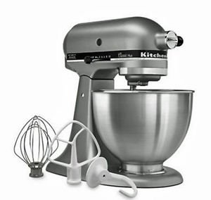 New Made in USA Kitchenaid Classic Plus Ksm75sl 10-speed Stand Mixer -Silver Fast Shipping Ship ALL Country