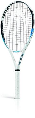 HEAD, Racchetta da tennis IG Six, Bianco (Weiß - Weiß/Blau), Grip 2