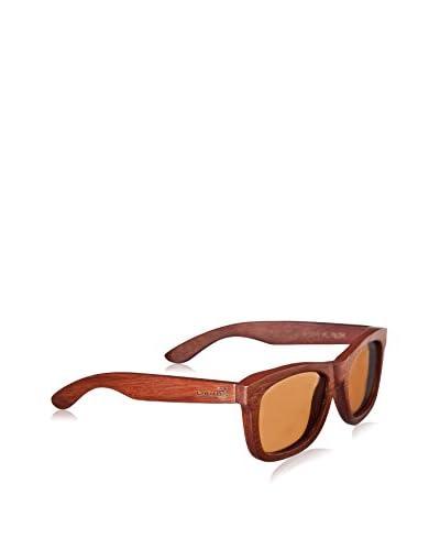 Earth Wood Women's ESG083R Panama Sunglasses, Rosewood
