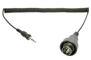 Sena SC-A0122 Jack 3,5 mm Stéréo à DIN 5 Broches Câble pour Yamaha (1983 et Plus Tard) Harley-Davidson, Kawasaki, Suzuki (1989 à 1997)