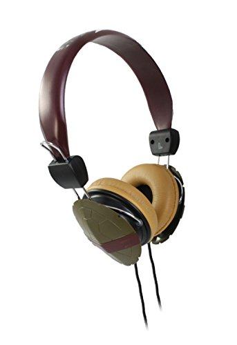 Nickelodeon 11765-Mic Teenage Mutant Ninja Turtles Shell Headphones