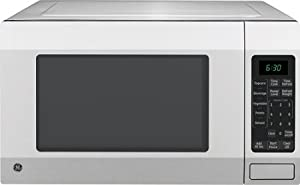 16 Cu Ft Countertop Microwave Oven With Sensor Cooking Controls Auto And Time Defrost Control Lockout Oven Timer And 12 Hour Clock Stainless Steel from GE