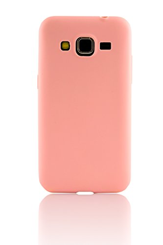 Parallel Universe Ultra Slim Flexible cover (Barely There Series) for Samsung Galaxy Grand Prime 4G / Grand Prime - Blush Pink  available at amazon for Rs.179