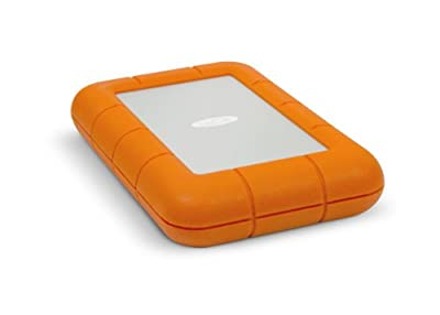 256GB LaCie SSD Rugged Dual Interface Portable Hard Drive (Thunderbolt, USB3.0)