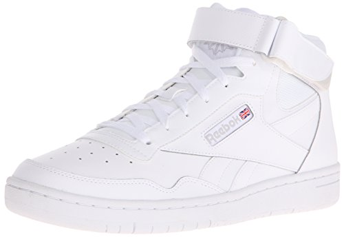 Reebok Men's Royal Reamaze 2 M Strap Classic Shoe, United States-White/Steel, 8 M US (Reebok High Top Shoes compare prices)