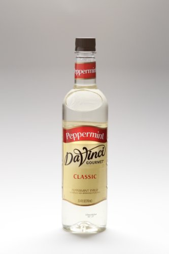 Da Vinci Gourmet Syrups Peppermint Syrup 750 ml