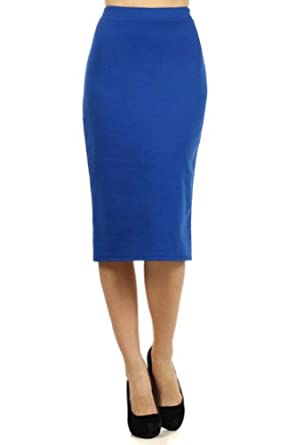 surelymine s high waist below knee length office