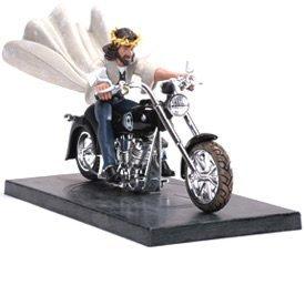Biker Jesus Figurine