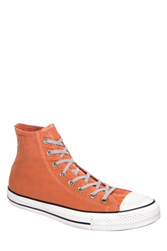 Converse Unisex Ct All Star Hi Washed Canvas 142224c High Top Sneaker