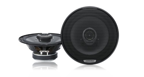 Alpine Spj17C2 6.5-Inch Coaxial 2-Way Speaker System 200W Peak 40W Rms - Set Of 2