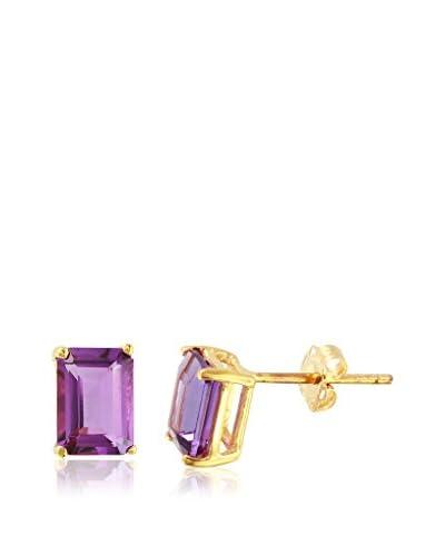 Fashion Strada Ladies 1.8 Cttw Amethyst 14K Earrings