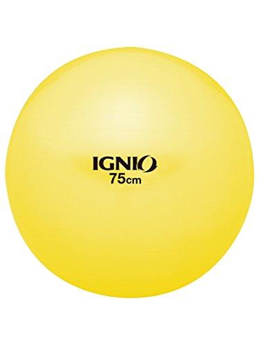 イグニオ(IGNIO) フィットネス ボール 直径75cm (IG Fボール75YL) イエロー