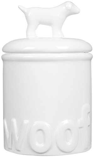 Creature-Comforts-Woof-Treat-Jar-White-Small