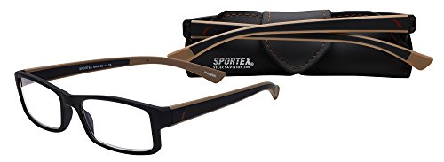 Select-A-Vision Sportex Readers Glass, +3.00, Brown