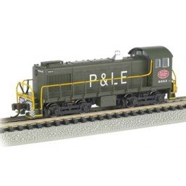 Bachmann Industries Alco 2-6-0 Boston And Maine 1363 Steam Locomotive Car front-130032
