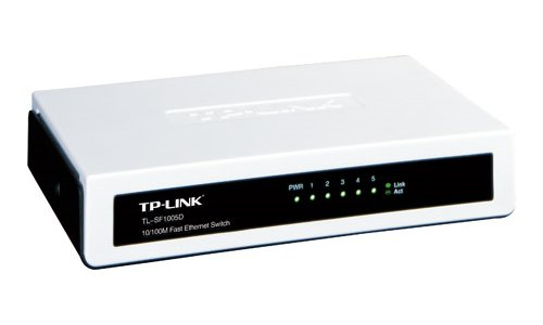 TP-LINK 5-Port Fast Ethernet Desktop Switch (TL-SF1005D) (Direct Port Switch compare prices)