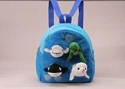 """Ocean Animal Backpack 11"""" by Unipak"""