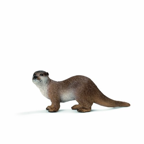 Schleich Otter Toy Figure