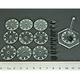 10 Count Numbered Dial And Pointers Pack Of 10