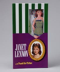 Janet Lennon with Punch Out Clothes - 1