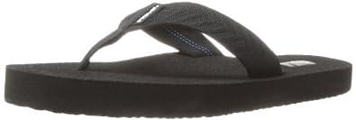 Teva Women's Mush II Flip Flop,Fronds Black,5 M US