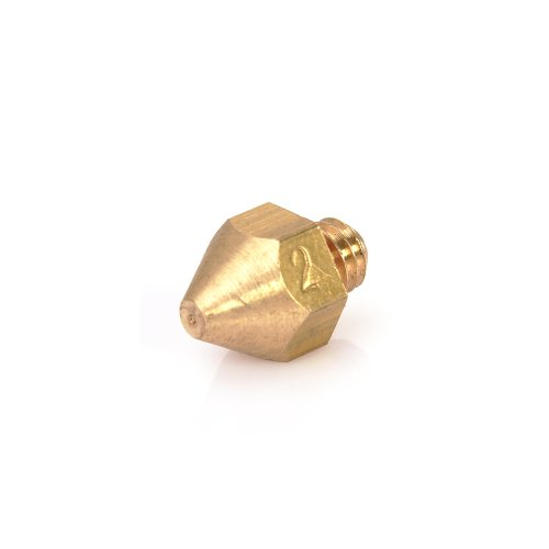 Koolertron New 0.2mm Brass 3D Printer Extruder Nozzle for Makerbot Mendel