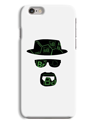 BrBa Heisenberg - Walter White Breaking Bad 3D Printed Design iPhone 6 Hard Case Protective Cover Shell