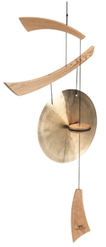 Woodstock Emperor Medium Gong, Natural Wood