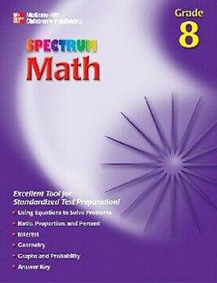SPECTRUM MATH GR. 8 - 1