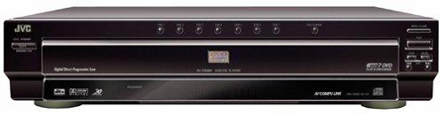 Jvc Xv-F80Bk Progressive-Scan 7-Disc Dvd Player, Black