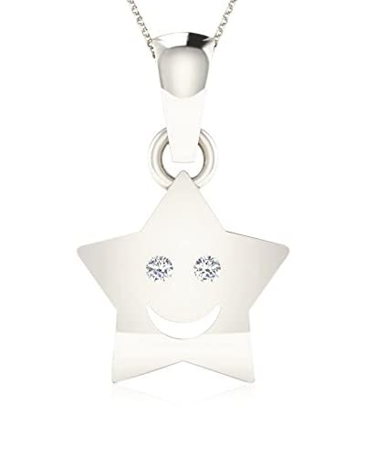 Friendly Diamonds Colgante Oro Blanco