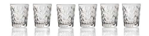 Lorenzo Laurus Collection Rcr Crystal Shot Glasses, Set of 6
