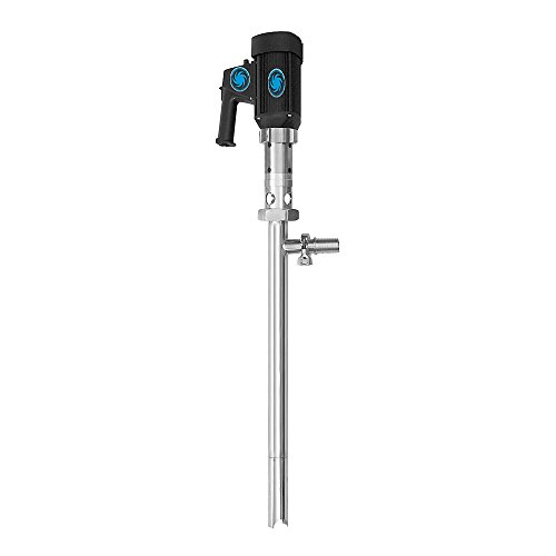 Action Pump 7604-3A 3A Rated Sanitary Food Grade 55 Gallon Progressive Cavity Drum Pump 316Ss, 110V