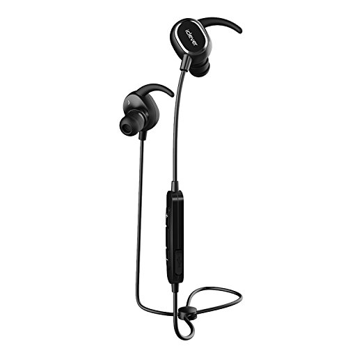 iClever Bluetooth Headphones IPX5 Noise Canceling, Sports Headphones with Mic Volume Control, Wireless Earbuds (APT-X and CVC 6.0 Noise Reduction)for iPhone 7 Plus,Nexus,iPod (QY19) (Iphone 4s Cord For Tv compare prices)