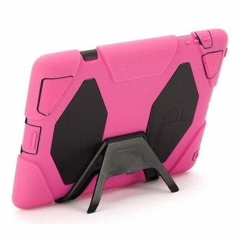 Best Deals! Griffin Survivor Extreme-Duty Military Case for the iPad 4/3/2, Pink/Black (GB35379)