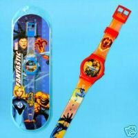 Picture of Clix Fantastic Four Digital LCD Sports Watch, Red Band Figure (B000QHR91A) (Fantastic Four Action Figures)