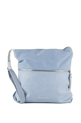 Esprit Womens 034EA1O031 Shoulder Bag Blue Blau (SMOKED SKY 064) Size: 27x30x6 cm (B x H x T)