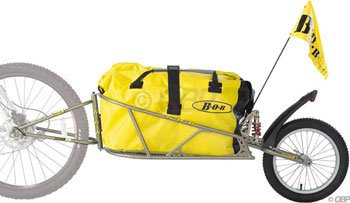 Find Bargain BOB Ibex Plus Suspension Trailer with Drysak