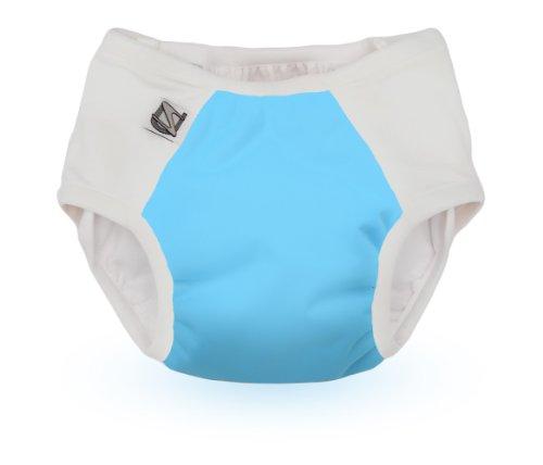Super Undies Snap-On Potty Training Pant (Medium, The Aquanaut)