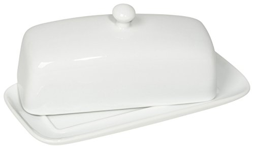 Now Designs Butter Dish, White (White Covered Butter Dish compare prices)
