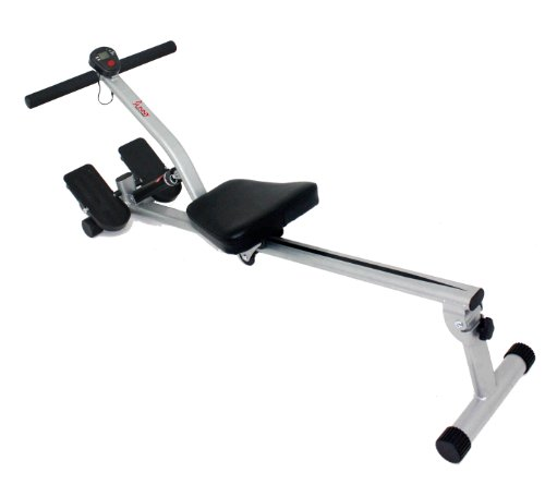 Rowing Machine with 12 Adjustable Resistance by Sunny Health & Fitness – SF-RW1205