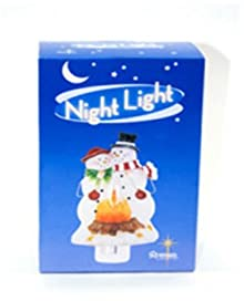 Ddi Snowman Couple Night Light (Pack Of 10)