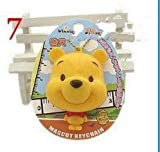 Winnie the Pooh Figure Soft Tape Measure Tapeline Ruler Keychain 100cm 40 inch