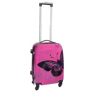 valise cabine rose 4 roues bagages. Black Bedroom Furniture Sets. Home Design Ideas