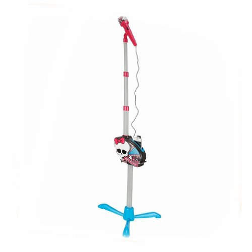 Monster High Fangtastic Microphone With Stand