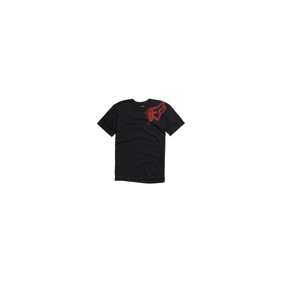 Fox Racing Intruder T Shirt   Large/Black