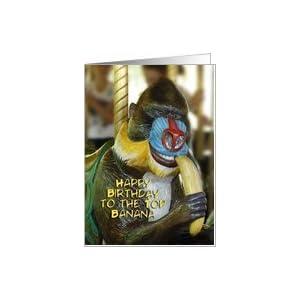 Amazon.com: Birthday Card For Boss Card: Health & Perso
