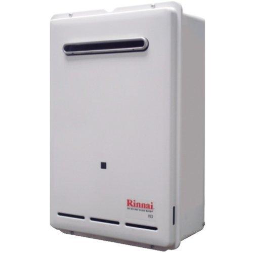 Rinnai V53Elp External Whole House Liquid Propane Tankless Water Heater 5.3 Gall, Liquid Propane